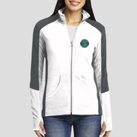 Ladies Jacket - Ladies Colorblock Microfleece Jacket