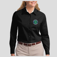 Ladies Dress Long-Sl - Ladies Long Sleeve Easy Care Shirt