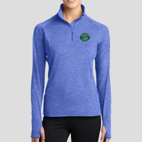 Ladies zip - Ladies Sport Wick ® Stretch 1/2 Zip Pullover